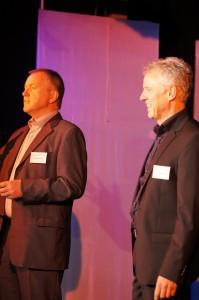 Begrüßung durch Eduard Hartmann und Stephan Schulz