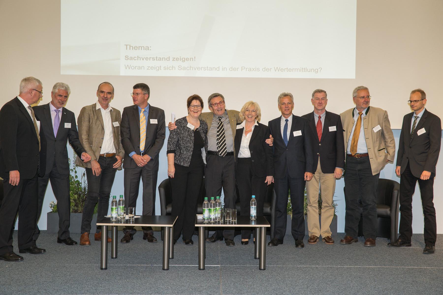 Stephan Schulz, Prof. Wolfgng Kleiber, Daniela Schaper, Volker Schlehe, Maximilian Karl, Berthold Grasberger, Herbert Schlatt, Anna Maria Tuscher-Sauer